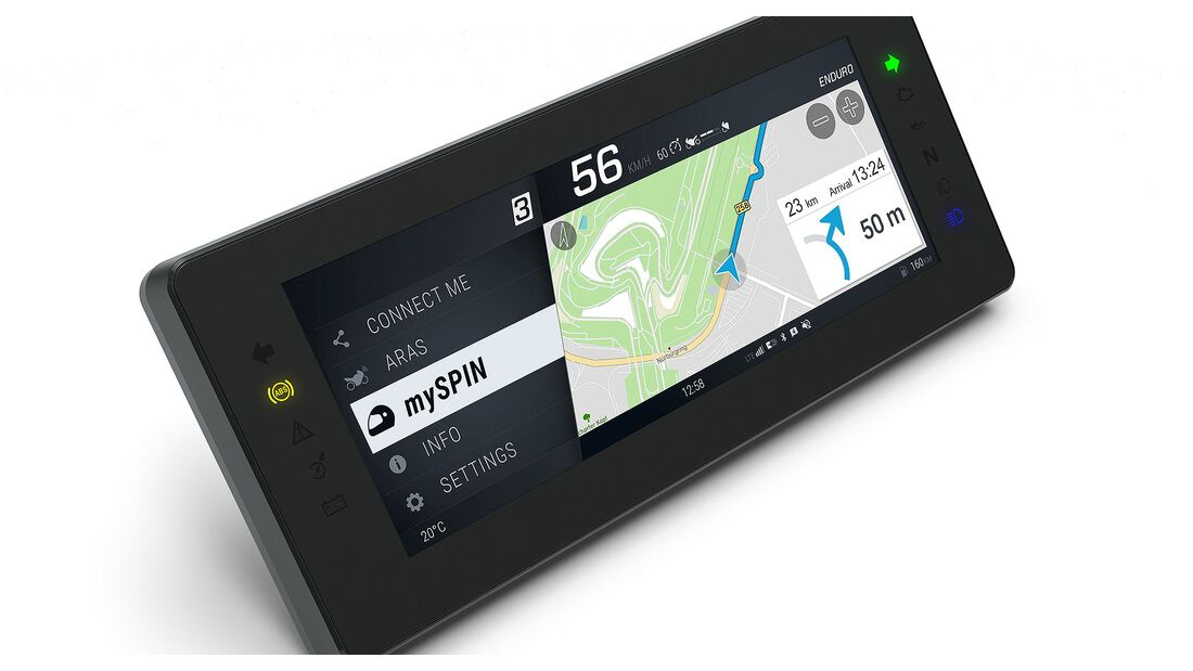 Bosch TFT Splitscreen MySpin