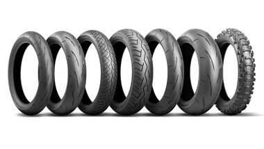Bridgestone Reifenportfolio für 2020.
