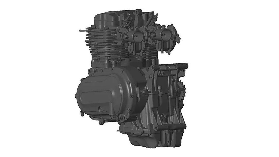 Brixton 1200 Patentbilder Motor