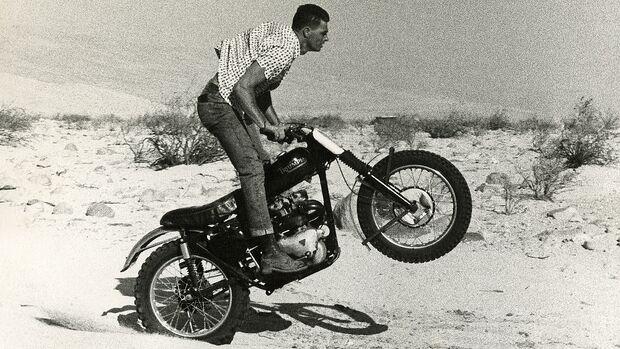 Bud Ekins Stuntfahrer