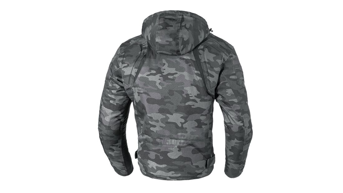 Büse Textiljacke Downtown Camouflage