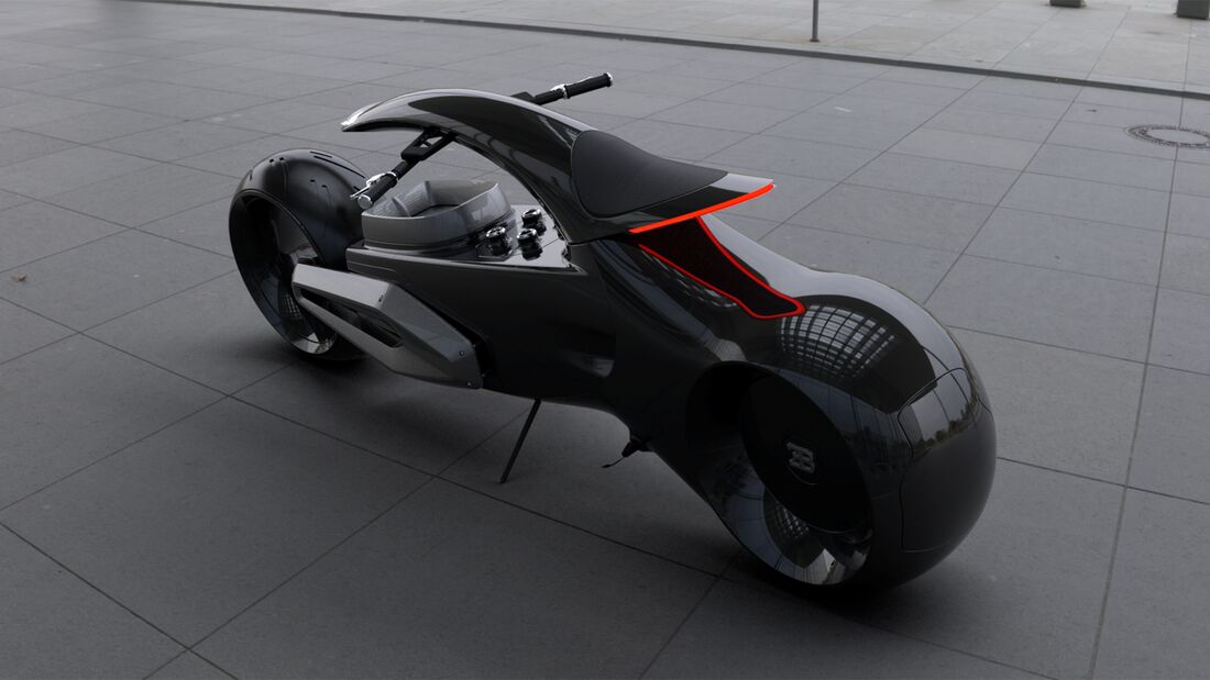 Bugatti Audacieux (Concept-Bike).