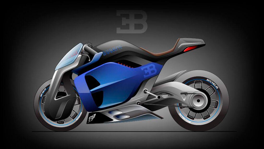 Bugatti Motorrad Entwurf