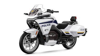 CF Moto 300GT-E Elektrisches Polizeimotorrad