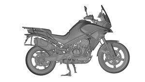 CF Moto MT800 Patentbilder