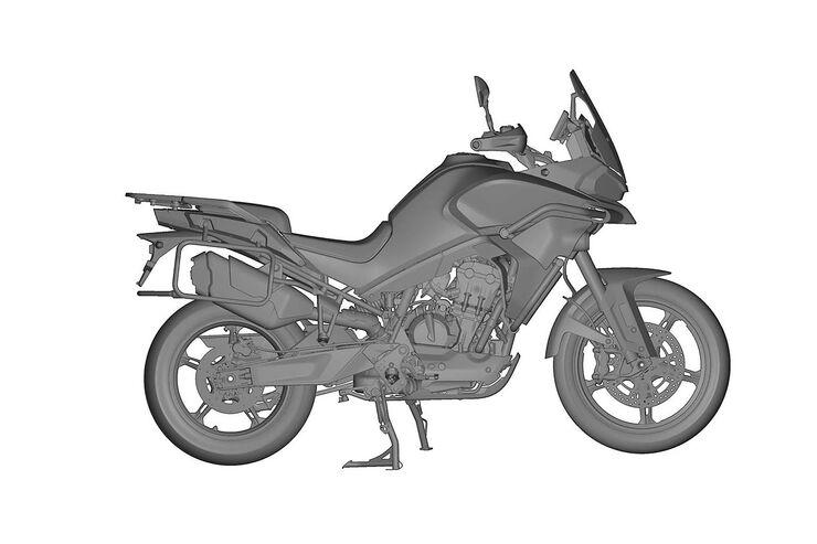 CF Moto MT800 Erlkönig: China-Adventure-Bike mit KTM-Twin