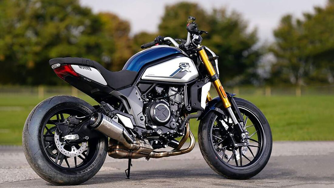 CF Moto 700 CL-X: Retro-Naked-Bike kommt 2021