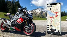 Calimoto - Navigations-App für Android und iPhone.