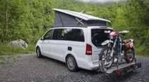 Campingbus Heckträger