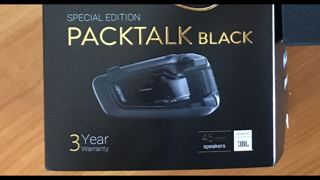 Cardo Packtalk Black