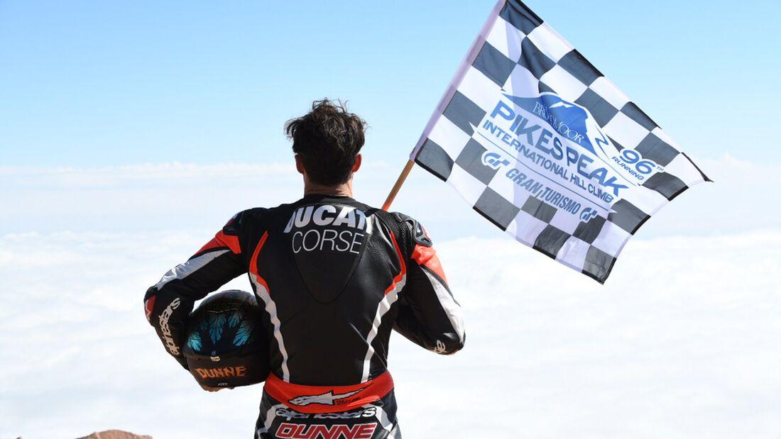 Carlin Dunne Pikes Peak Winner