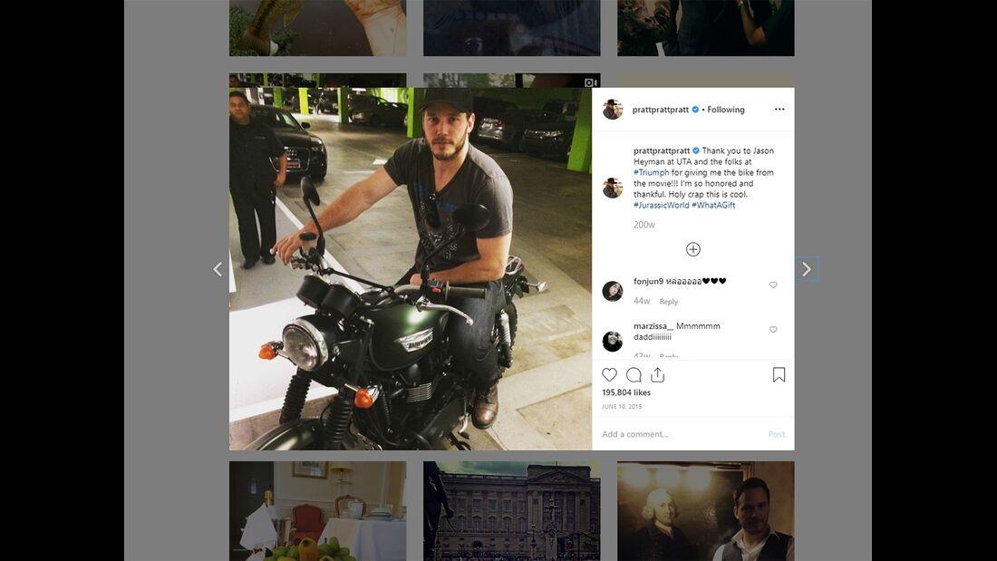 Chris Pratt Instagram