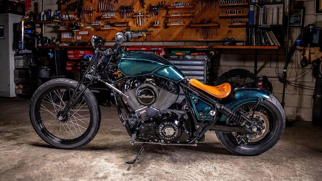 Cox X Sasaki Indian Motorcycle Chief