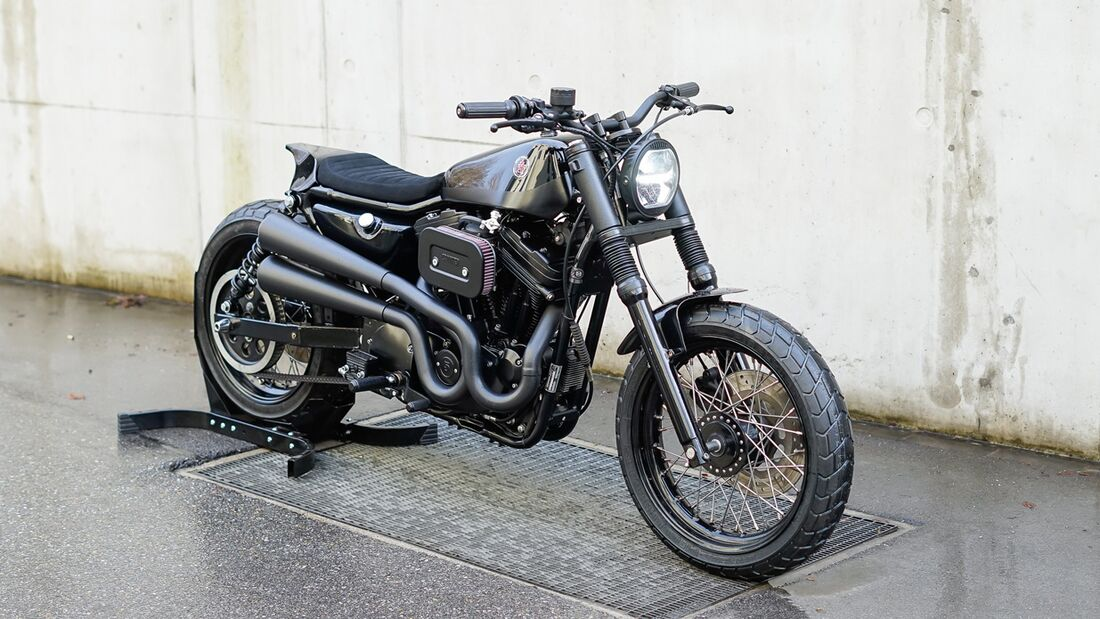 Crooked Sportster