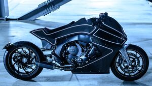 Custom Works Zon Stealth Crow BMW K1600 B