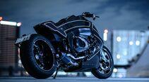 Custom Works Zon Stealth Crow BMW K1600 B