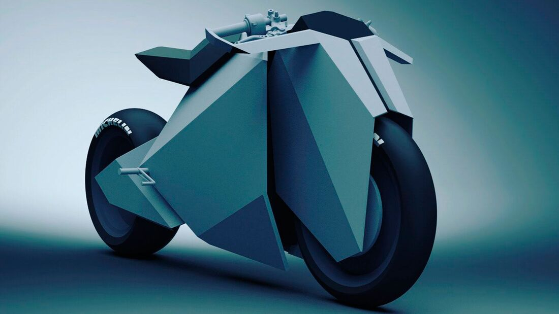 Cyber Bike Entwurf