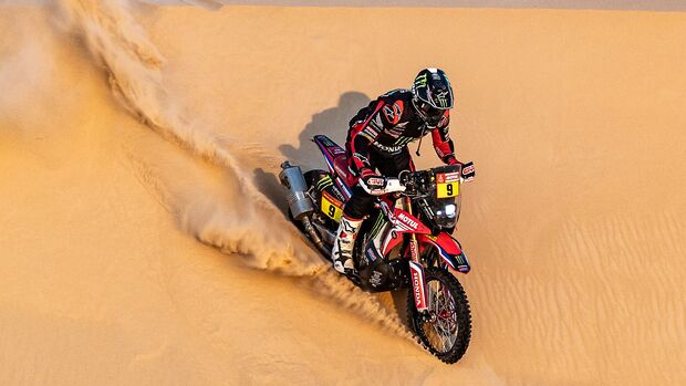 Dakar Sieger Ricky Brabec Honda