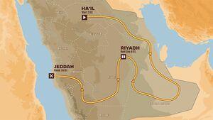 Dakar Strecke 2022