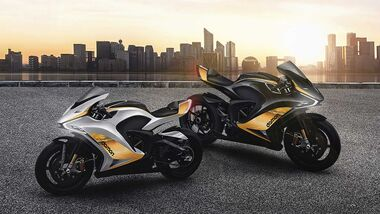 Damon Hypersport Premier Arctic Sun und Midnight Sun.