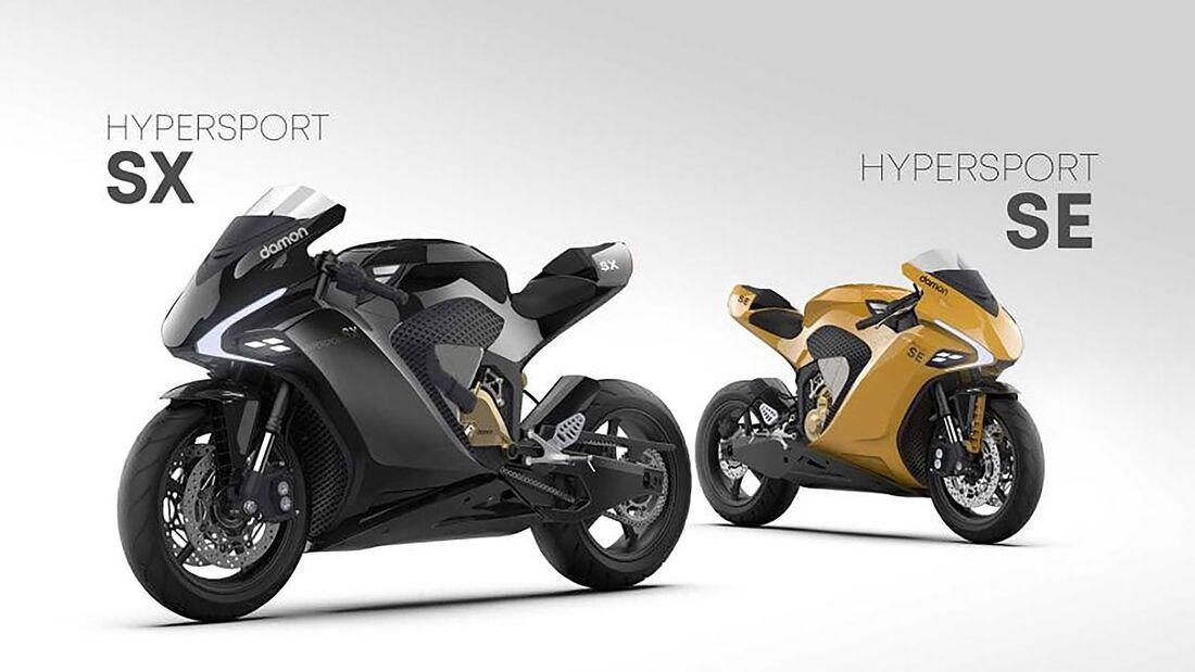 Damon Hypersport SE und SX