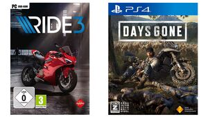 Days Gone und Ride 3.