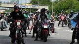 Demo gegen Fahrverbote in München (Juli 2020).