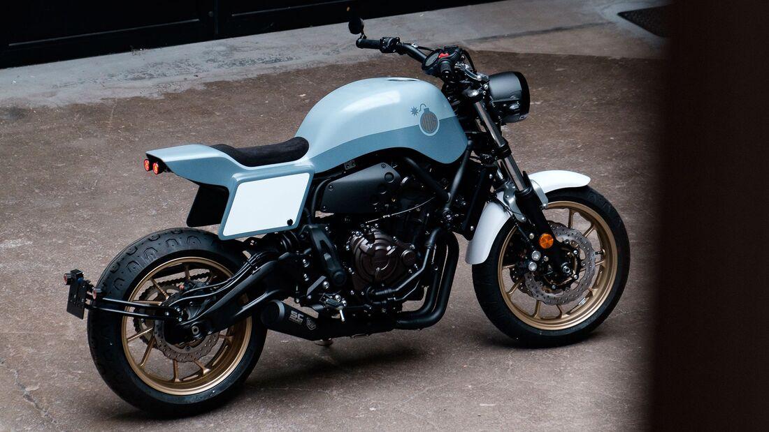 Deus Ex Machina la Bombe Umbau-Kit Yamaha XSR 711