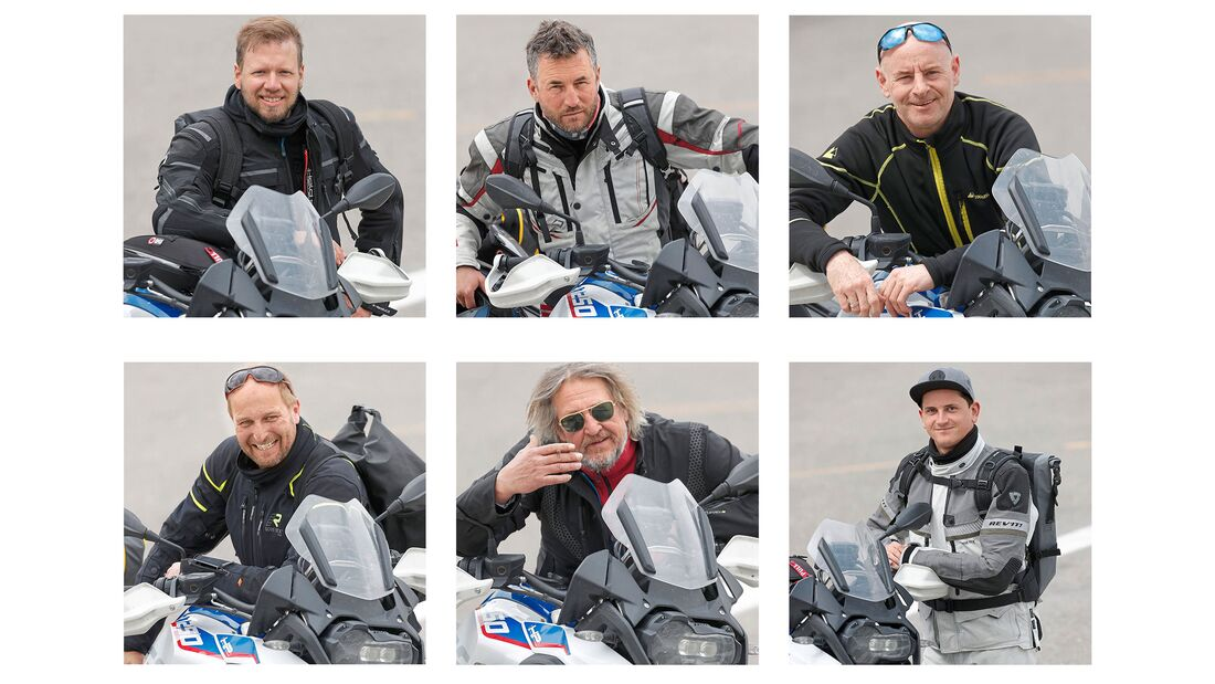 Die MOTORRAD-Reifentest-Crew 2019