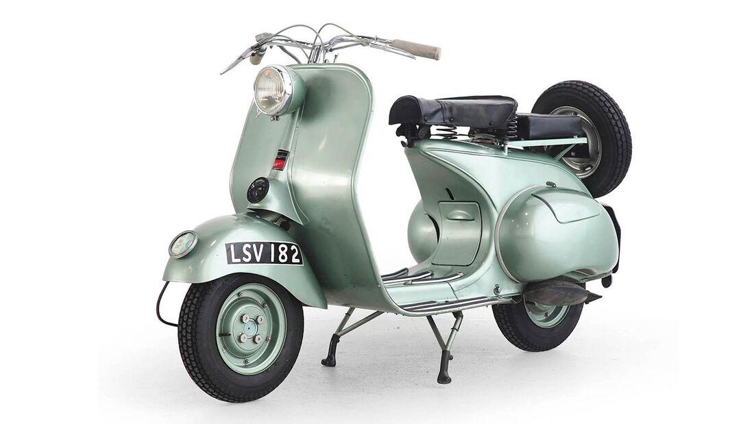 Douglas Vespa 125 2L2 (1952).