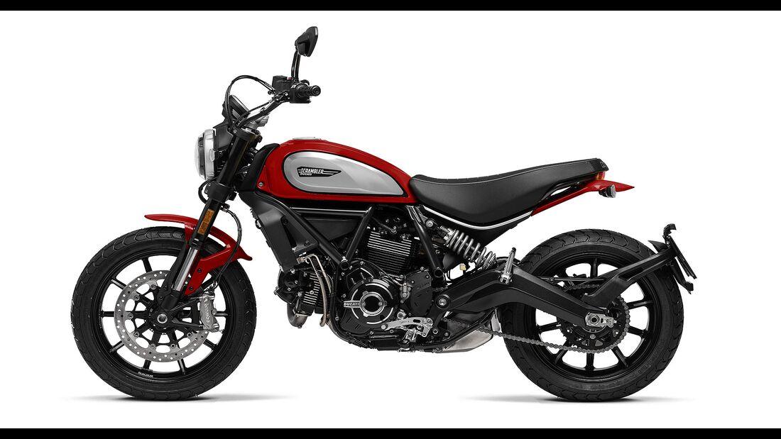 Ducati 800 Scrambler Icon Red Modelljahr 2021