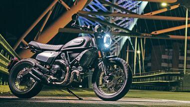 Ducati 800 Scrambler Nightshift  Modelljahr 2021