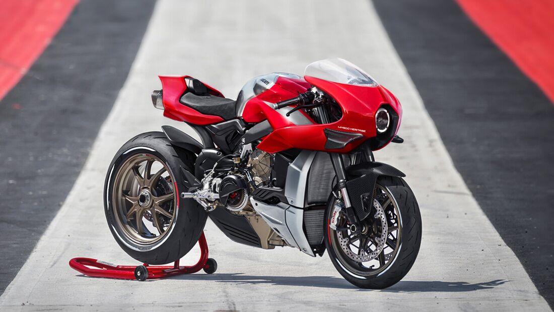 Ducati MG900 Heritage von Jakusa Design.