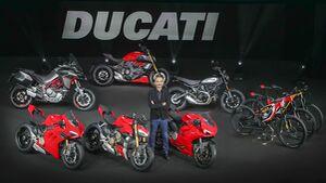 Ducati Modellpalette