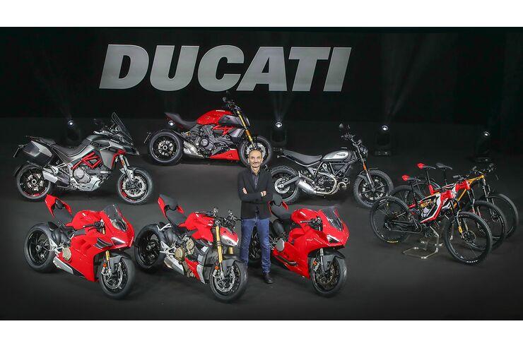 Ducati-Absatz 2020: Starkes Finale dämpft Einbruch