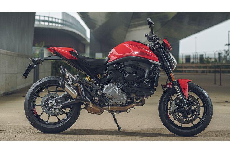 Ducati Monster Modelljahr 2021: Fast alles auf Anfang