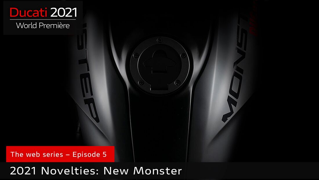 Ducati Monster Teaser