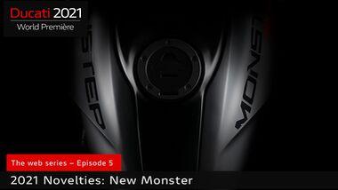 Ducati Monster Teaser