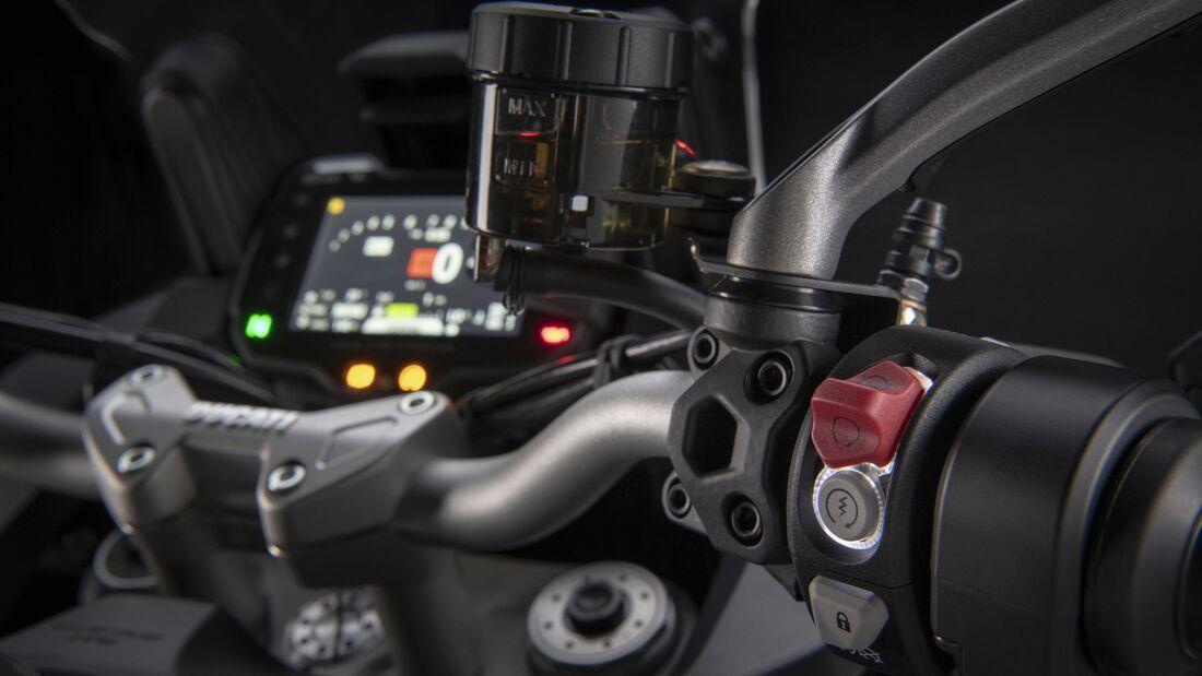 Ducati Multistrada V2 2022 trinh lang thay the cho nguoi anh em Multistrada 950 - 16