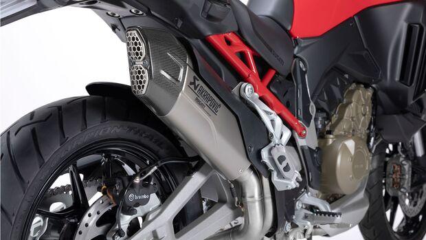 Ducati Multistrada V4 Akrapovic