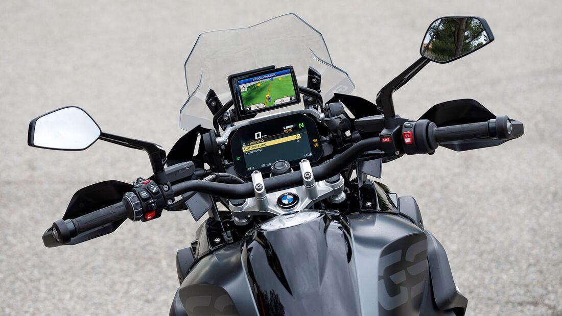 Ducati Multistrada V4 und BMW R 1250 GS Test