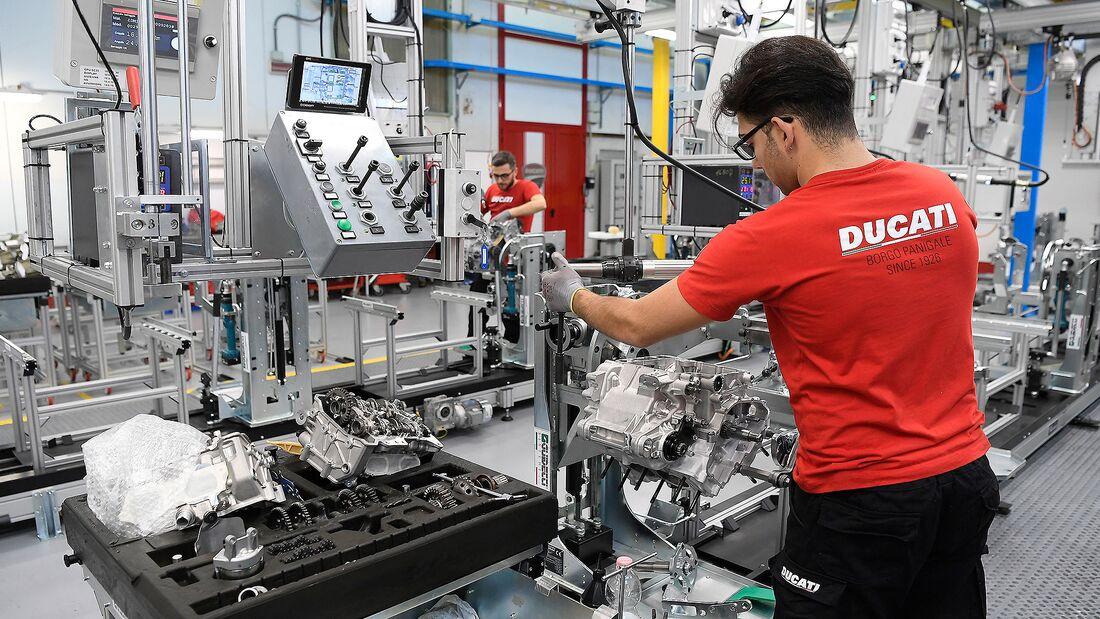 Ducati Produktion