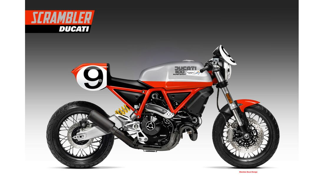 Ducati Scrambler 1100 Legends Series.