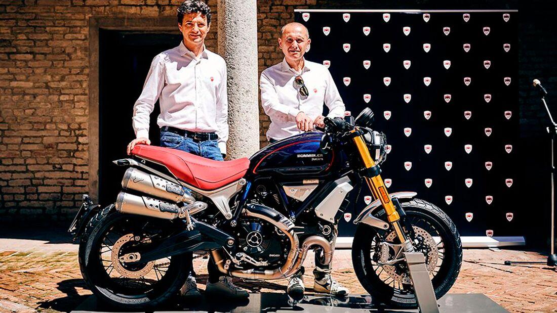 Ducati Scrambler 1100 Limited Edition 2020 Scuderia Club Italia