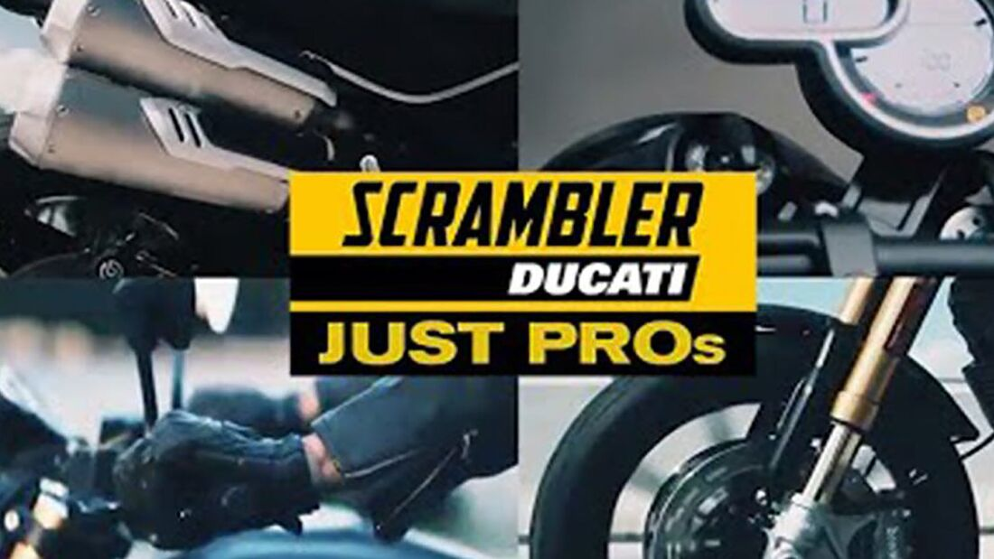 Ducati Scrambler 1100 Pro Teaser