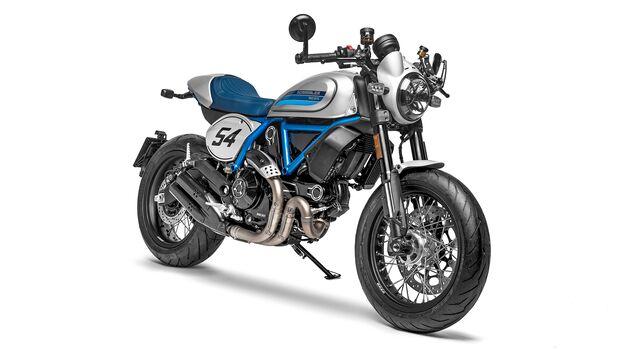 Ducati Scrambler Café Racer.