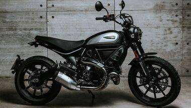 Ducati Scrambler Icon Dark.