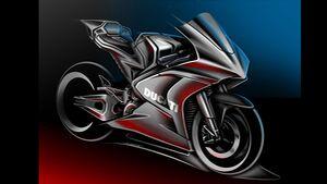 Ducati Teaser MotoE Motorrad