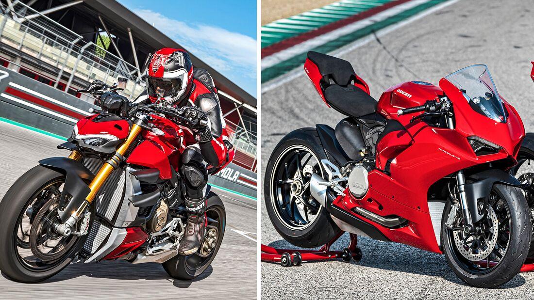 Ducati im Modelljahr 2020.