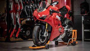 Dynamoto fahrbahrer Motorradständer
